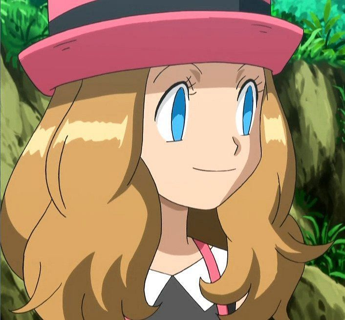 Serena (Image via The Pokemon Company)