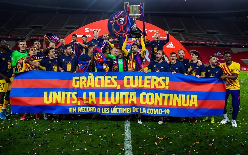 Barcelona have won their 5th Copa del Rey in seven years