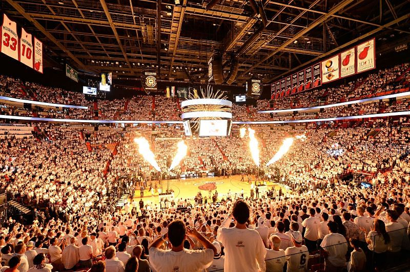 The 2021-22 season could see all 30 arenas at full capacity as per NBA