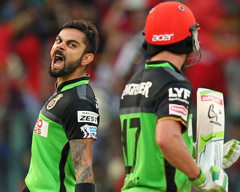 Virat Kohli and AB de Villiers stitched one of the best partnerships in T20 cricket.