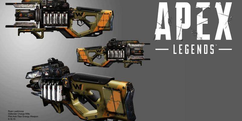 Charge Rifle(Image via Respawn Entertainment)