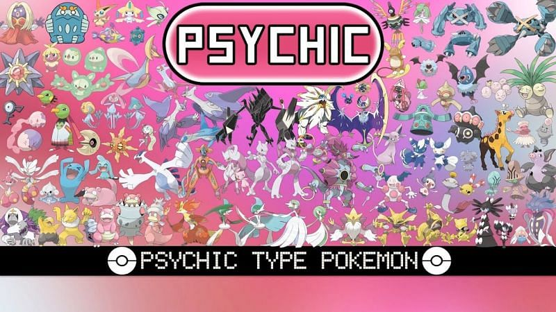 Psychic-types are some of the most intimidating Pokemon (Image via Tom Salazar)