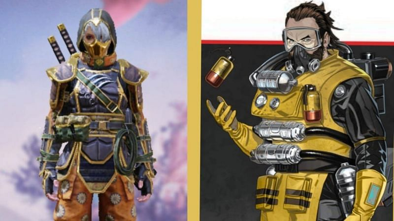 Characters in Apex Legends have special abilities, unlike the ones in COD Mobile.