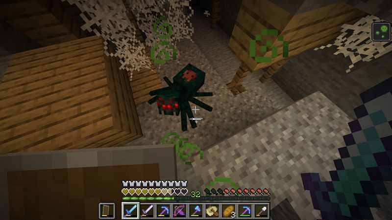 Cave spider in Minecraft (Image via feedback.minecraft.net)