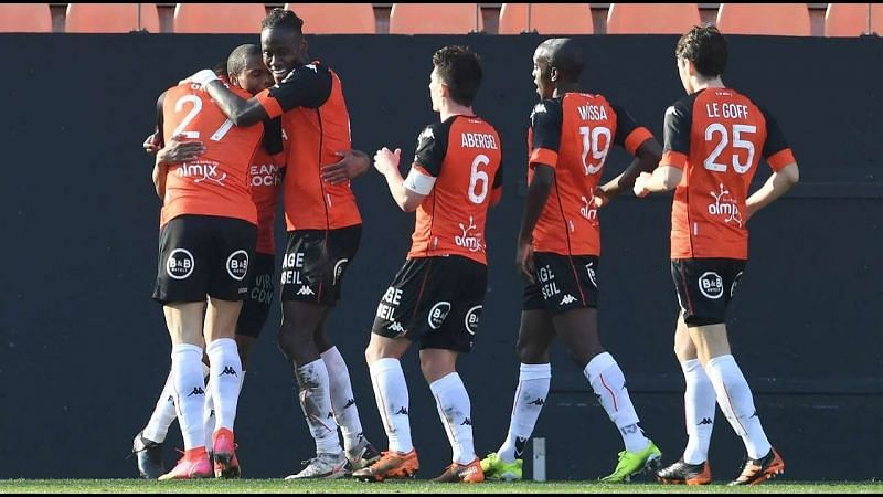 Lorient impressed with a 4-1 victory over Bordeaux last weekend