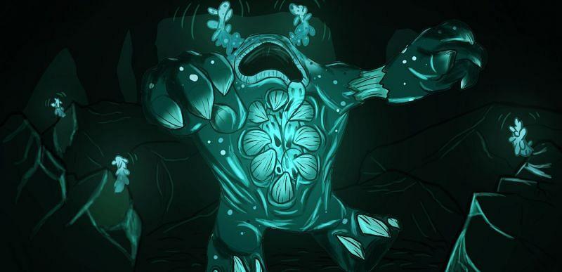 Shown: An amazing rendition of the Warden in his natural habitat (Image via u/bertcaers3 on Reddit)