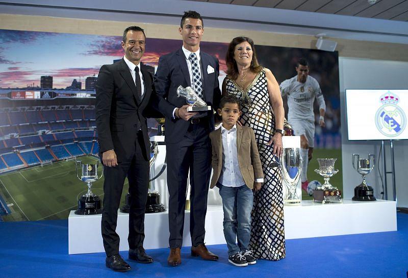 Cristiano Ronaldo and Jorge Mendes enjoy a good relationship