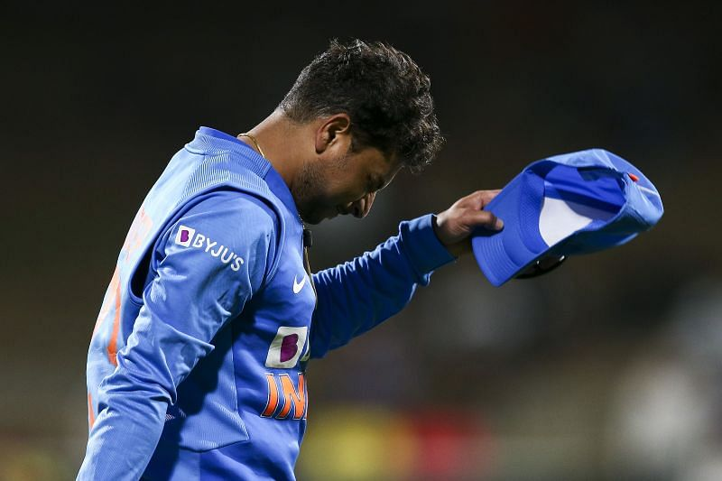 Kuldeep Yadav, along with Yuzvendra Chahal, was dropped from the playing eleven against England.