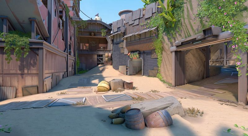 Valorant's latest map Breeze (Image by Riot Games)