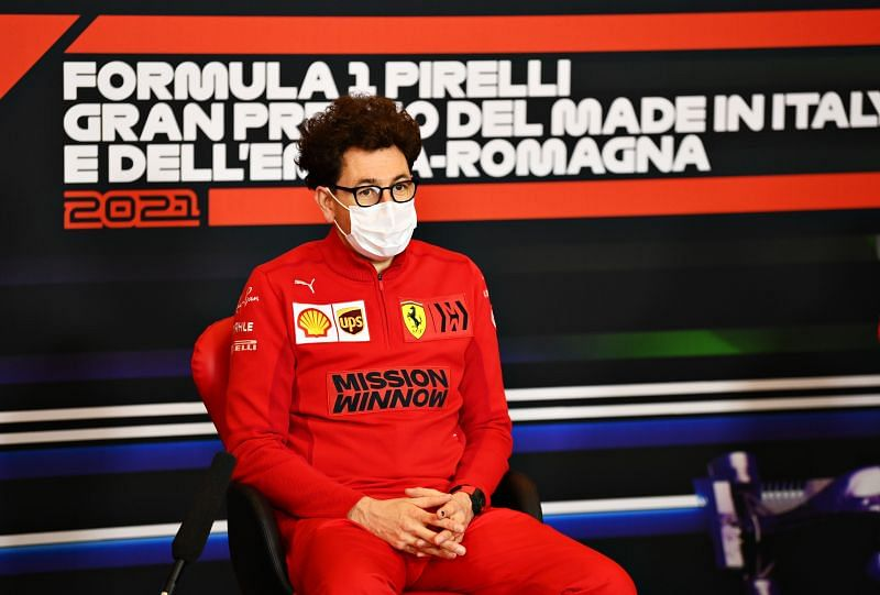 Mattia Binotto has been Ferrari team principal since 2019. Photo: Clive Mason/Getty Images.