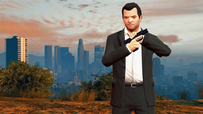 Michael De Santa is an insanely rich man by the end of GTA 5 (Image via GTA 5, Steam Community)
