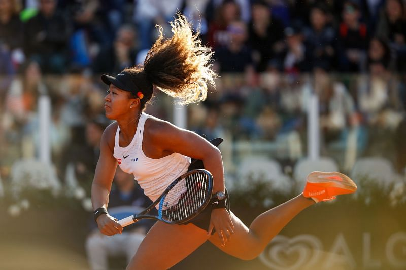Naomi Osaka will look to take control of the match from the get-go.