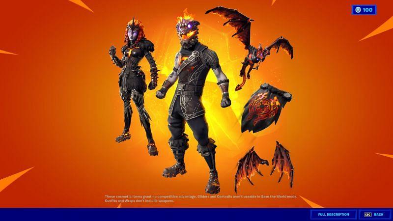 Lava Legends pack returns to the item shop in Fortnite Season 6 (Image via Epic Games, Fortnite)