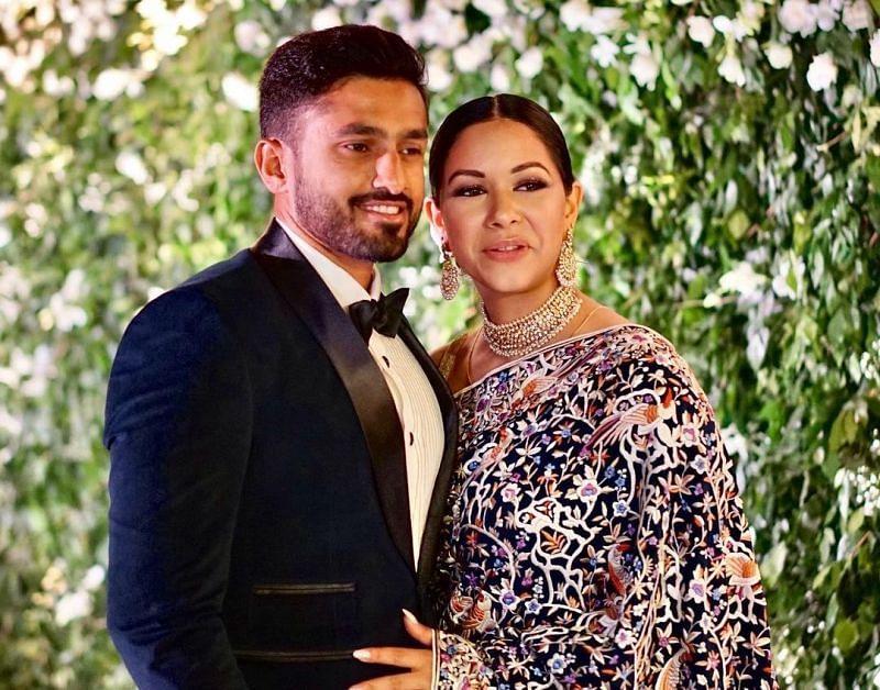 Karun Nair and Sanaya Tankariwala's Lovely Couple Moments