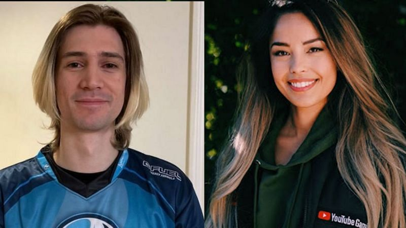 Valkyrae and xQc are at the top of channels that have the most hours watched in their respective categories (Image via xQc and United Talent Agency)