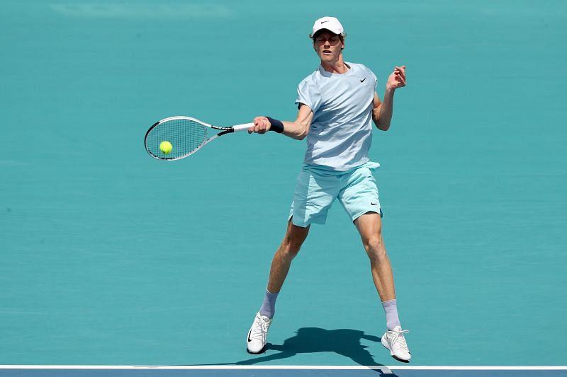 Jannik Sinner advanced to his first Masters 1000 final