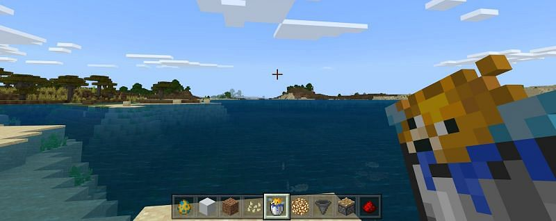 Drops and Acquistion of Pufferfish in Minecraft