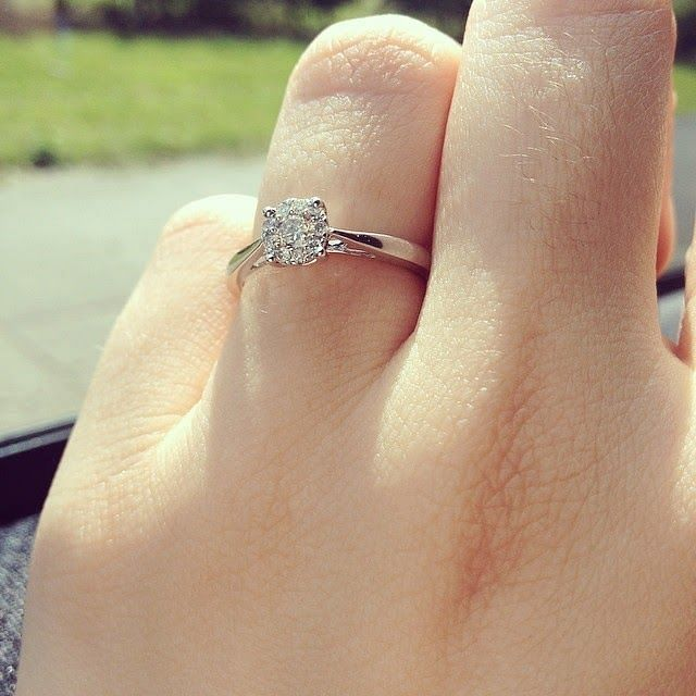 Mandeep Singh's wife Jagdeep Proposal Ring