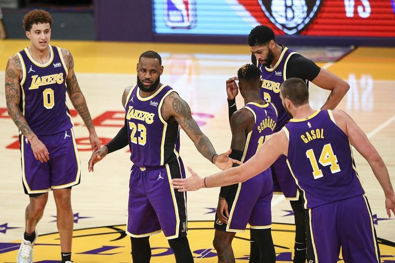 LeBron James is missing for the LA Lakers.