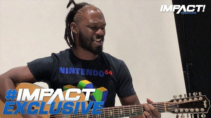 Rich Swann loves to rock and he