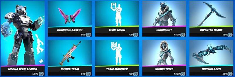 The Mecha Team Leader bundle (Image via Epic Games)