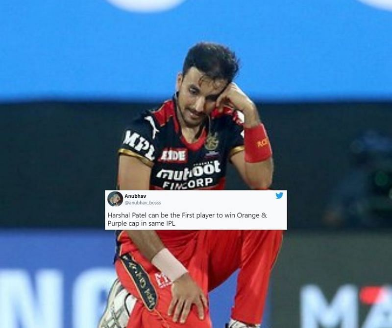Twitter trolled Harshal Patel for being expensive with the ball once again