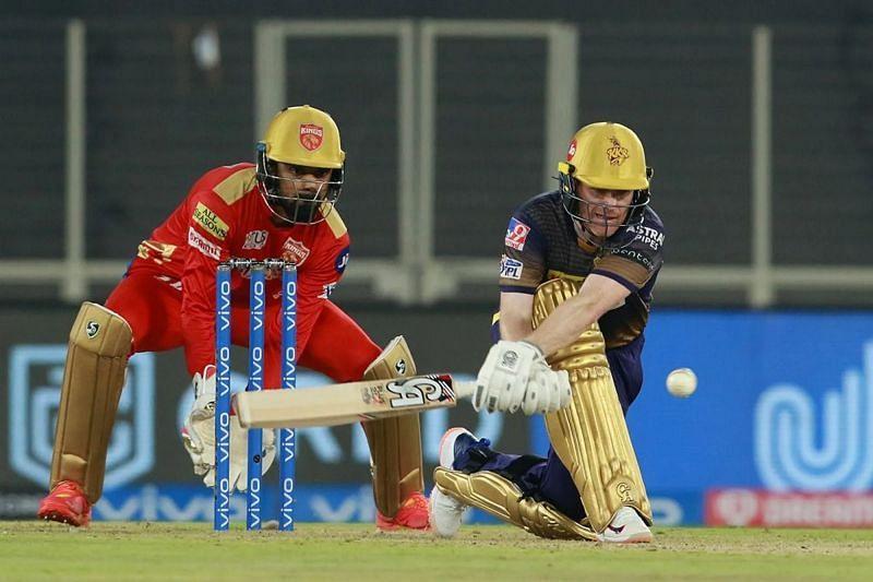 KKR captain Eoin Morgan Pic: IPLT20.COM