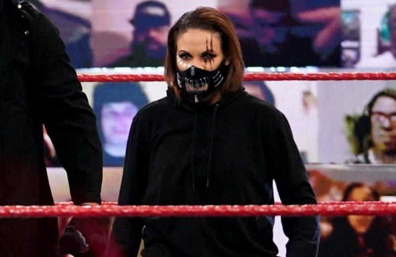 Mercedes Martinez was briefly a member of RETRIBUTION (Credit: WWE)