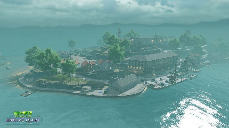 The Alcatraz map is coming back in COD Mobile Season 3 (Image via Activision)