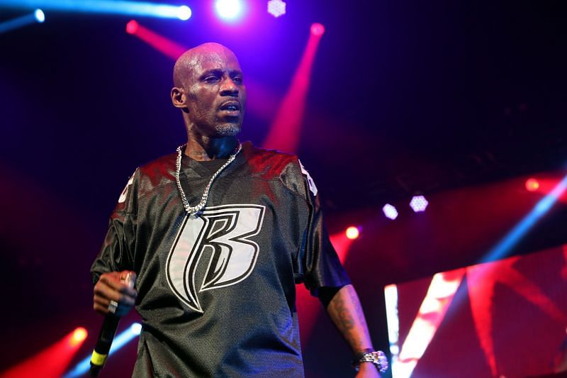 Rapper DMX has been in a critical condition following a drug overdose (image via Getty)
