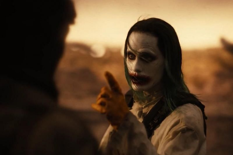 The Batman and Joker in Zack Snyder