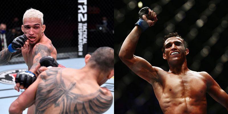 Chandler Oliveira challenges for the UFC lightweight title at UFC 262