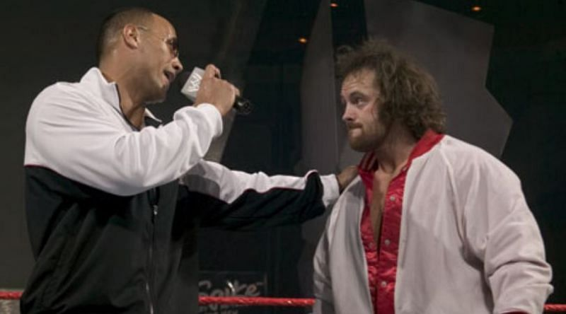 Eugene famously told The Rock that Triple H was his favorite wrestler