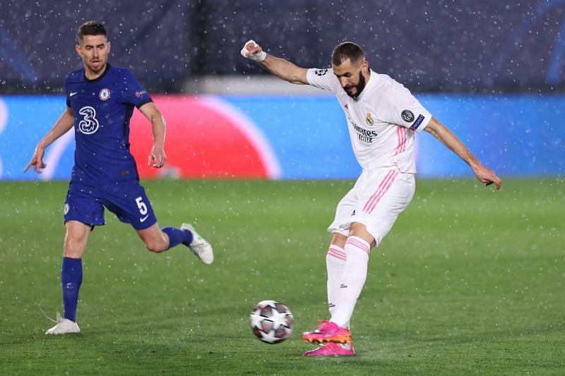 Karim Benzema scored his 28th goal of the season
