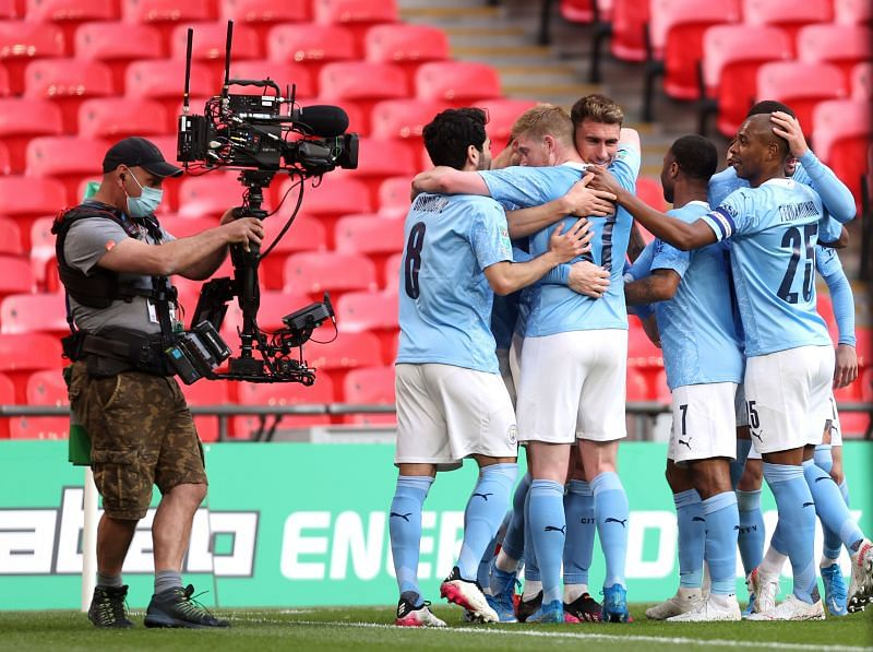 Manchester City won their fourth straight Carabao Cup title.