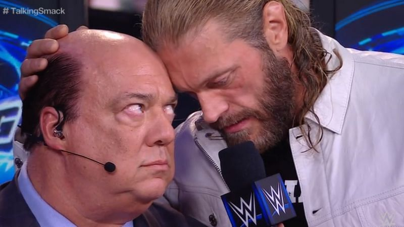 Edge was the only guest on this week