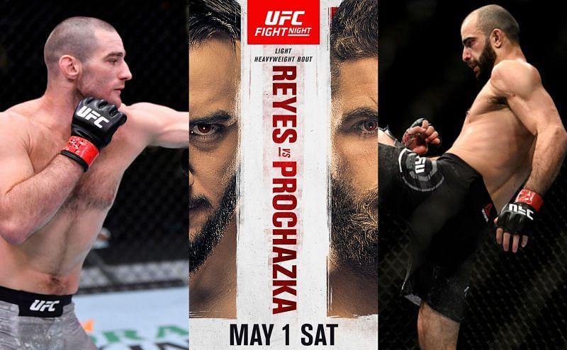 UFC Vegas 25: Reyes vs. Prochazka