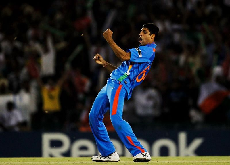 Ashish Nehra was the most economical Indian bowler in the semifinal match against Pakistan