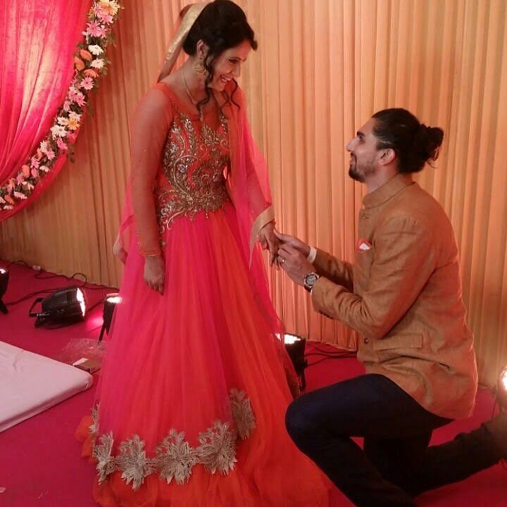 Ishant Sharma's Engagement
