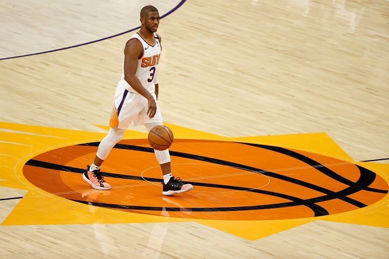 Chris Paul #3 of the Phoenix Suns.