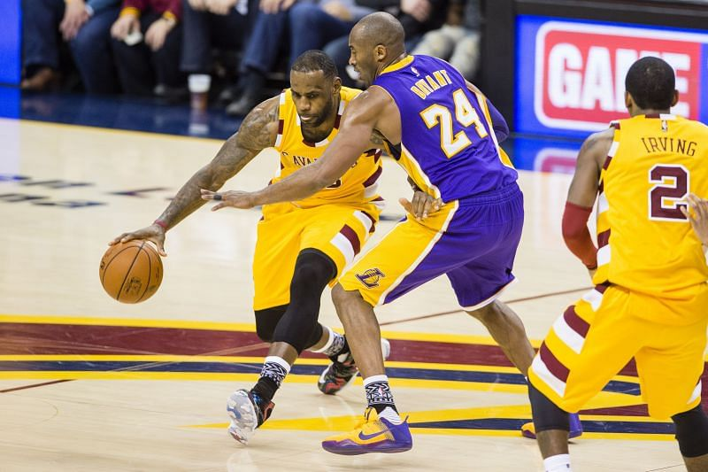 LeBron James and Kobe Bryant are both in the top-5 for most NBA games with at least 30-points.