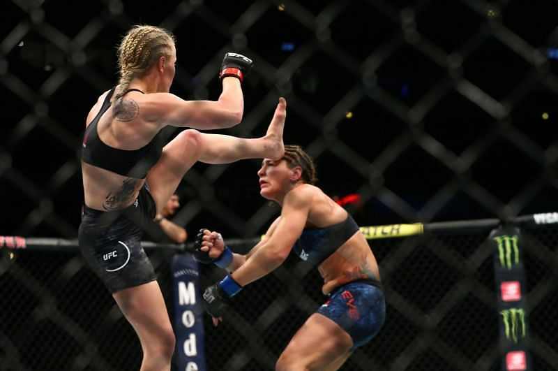 Valentina Shevchenko has dealt with all of her challengers, including Jessica Eye, in ruthless and dominant fashion