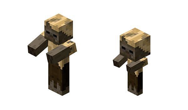 Husk appearance in Minecraft (Image via minecrafteo)