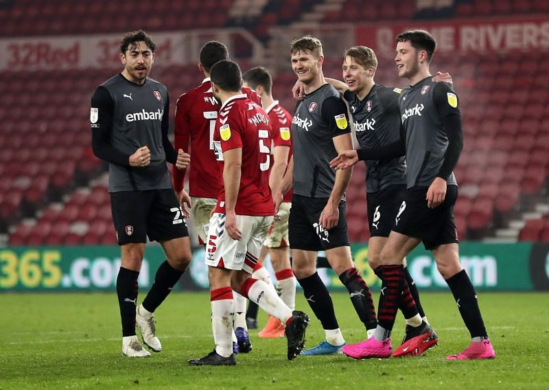 Rotherham brushed Middlesbrough aside in a 3-0 mauling