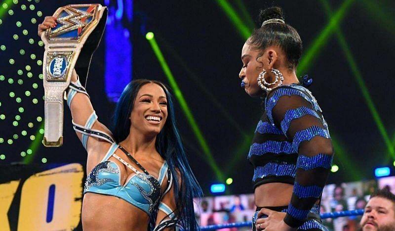 Sasha Banks and Bianca Belair will make history at WrestleMania