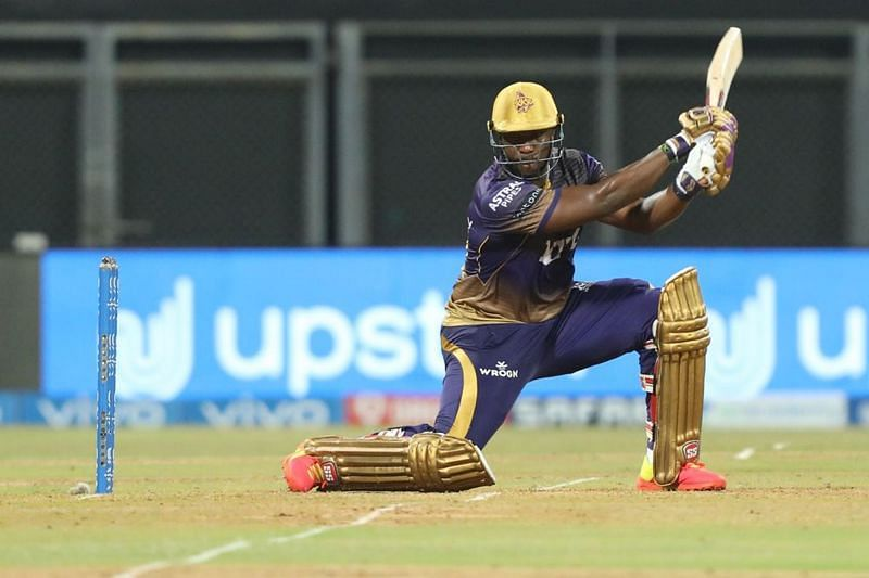 Andre Russell looked deadly with the bat against CSK. (Image Courtesy: IPLT20.com)