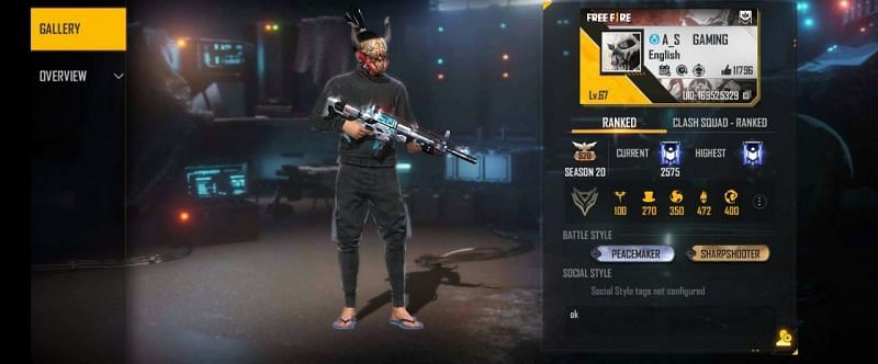A_S Gaming की Free Fire ID