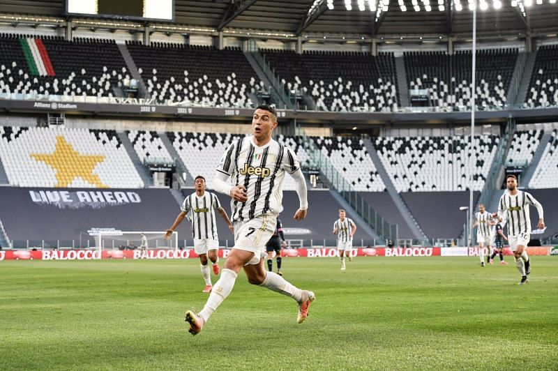 Cristiano Ronaldo helped Juventus to a huge win in Serie A.