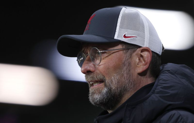 Liverpool manager Jurgen Klopp