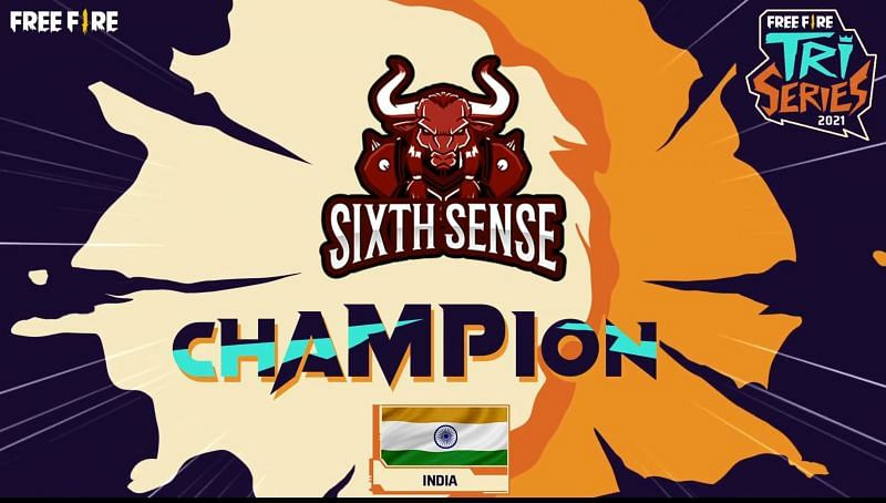 Sixth Sense has won the Free Fire Tri-Series 2021 crown
